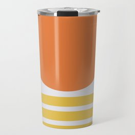 Geometric Form No.5 Travel Mug