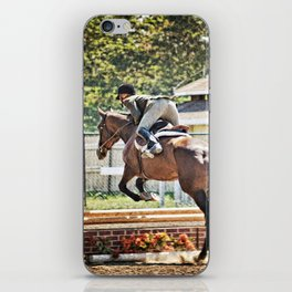 Equestrian love iPhone Skin
