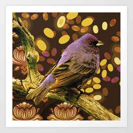 Brown Sparrow Art Print