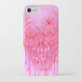 Skinless Red Horror Zombie Art iPhone Case