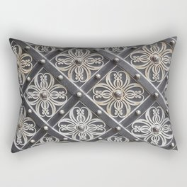 Metallic And Decorative - Grey Monochrome #decor #society6 #buyart Rectangular Pillow