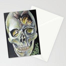 aquatic horror Stationery Cards