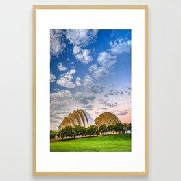 Kauffman Arts Center Grand Ballroom Landscape - Kansas City Framed Art Print