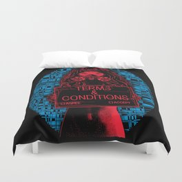 Terms and Conditions Duvet Cover