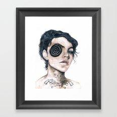Bang bang ! Framed Art Print