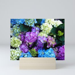 Colorful Flowering Bush Mini Art Print