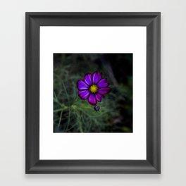 Floral autumn Framed Art Print