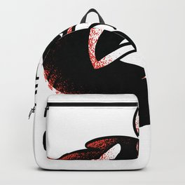 ghost cat Backpack