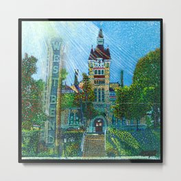 Old Court House Metal Print