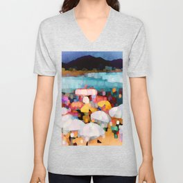 Bathing Pleasure Unisex V-Neck