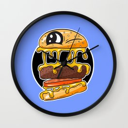 Fast Food FRENZY - Cheezy Tom Wall Clock