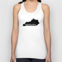 kentucky Tank Tops featuring Kentucky by Isabel Moreno-Garcia