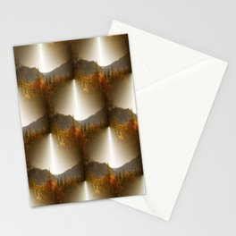Golden Lace in the mountains... Stationery Cards