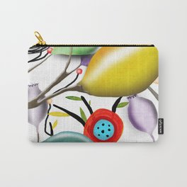 Cinque Terre - Lemons Lemon - Italian Riviera - Limoni Lemon Pattern Home Decor Carry-All Pouch