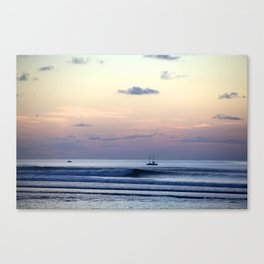 Bali Sunset Canvas Print