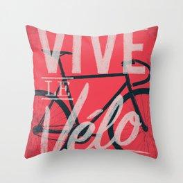 Vive Le Velo 2011 Throw Pillow