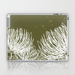 Olive Doodle Floral by Friztin Laptop & iPad Skin