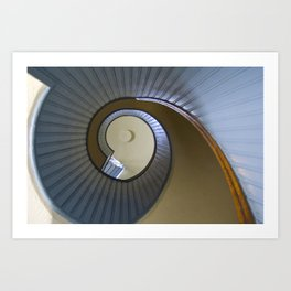 Point Loma Stairs Art Print