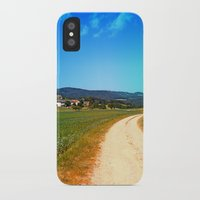 hiking iPhone & iPod Cases featuring Another lonely hiking trail by Patrick Jobst