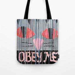 Obey Me Cat Tote Bag