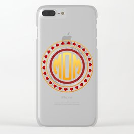 Mothersday - Love Circle Clear iPhone Case