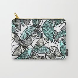 BIRDS IN THE PARK Carry-All Pouch