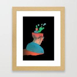 Californium | Just think Framed Art Print