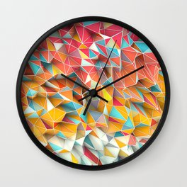 Kaos Summer Wall Clock