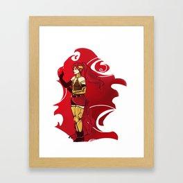 RWBY Pyrrha Framed Art Print