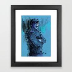 BRONSON VERSION 2 Framed Art Print