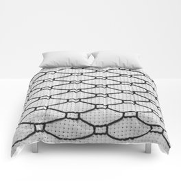 Vintage Window Grille Cross Stitch Pattern #2 Comforters