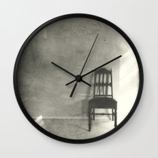 The Empty Chair No3 Wall Clock
