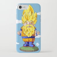 gnome iPhone & iPod Cases featuring Gnome Sayan by Nate Galbraith