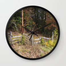 Three bird houses  Wall Clock