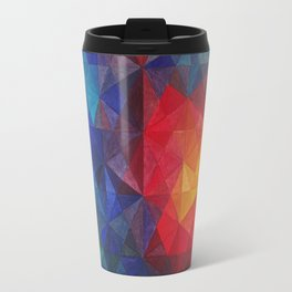 Fire in the evening Travel Mug