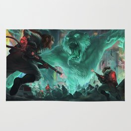 Ghostbusters Illustrattions Rug
