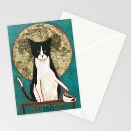 Saint Pierre Cats' Patron Saint Stationery Cards
