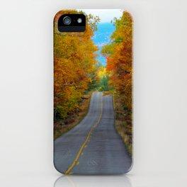 Katahdin Foliage (2) iPhone Case