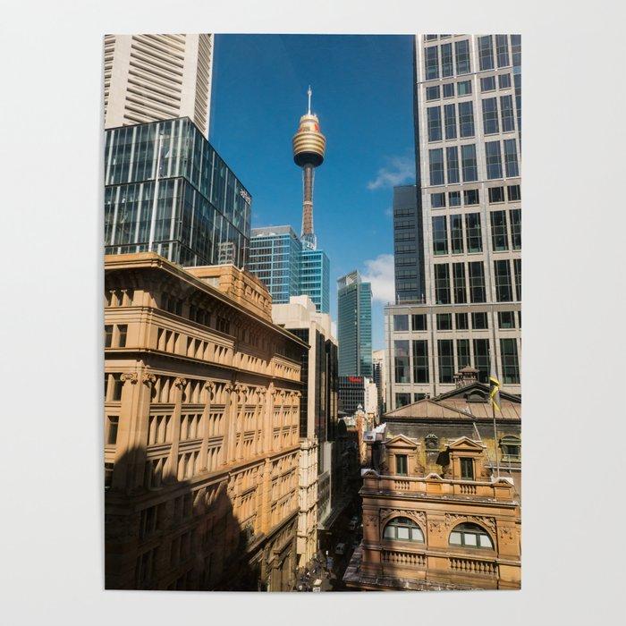 Pitt Street, Sydney Poster