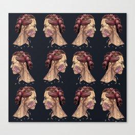Pink Repeat Canvas Print
