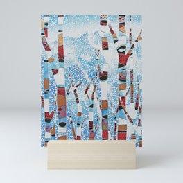 Alyeska First Snowfall Mini Art Print