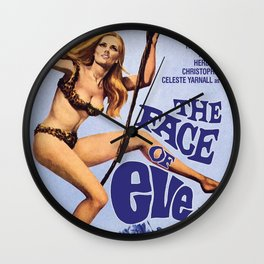The Face of Eve Wall Clock