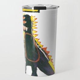 Dinosaur: Homage to Basquiat Travel Mug