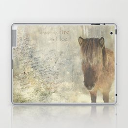 Iceland, forged by fire and ice Laptop & iPad Skin