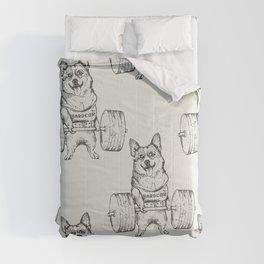 Corgi Lift Comforters