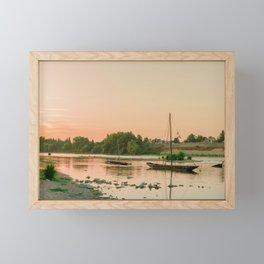 Floating The Loire Framed Mini Art Print