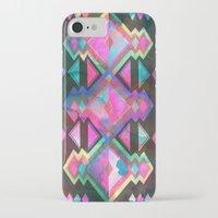 dream catcher iPhone & iPod Cases featuring Dream Catcher by Schatzi Brown