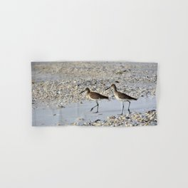Willets in the Winter Hand & Bath Towel