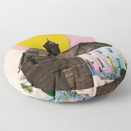 The Pink House Floor Pillow