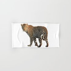 Leopard (animal, nature) Hand & Bath Towel
